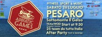 Confcommercio di Pesaro e Urbino - ADRIATIC GAMES FITNESS, SPORT & MUSIC ON THE BEACH - Pesaro