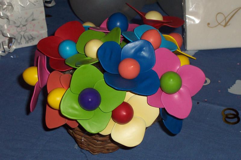 Mondo feste articoli da regalo per le feste ascom pesaro - Composizione palloncini da tavolo ...