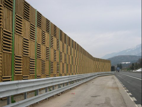Akuwood barriere acustiche in legno - SITAV BARRIERE