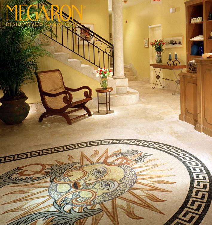 Bianchi marmi lavorazione marmi per l arredo della tua for Mosaici in marmo per pavimenti