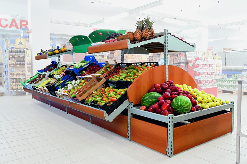 Logika srl arredamenti per spazi di vendita ascom pesaro for Arredamenti per negozi di frutta e verdura