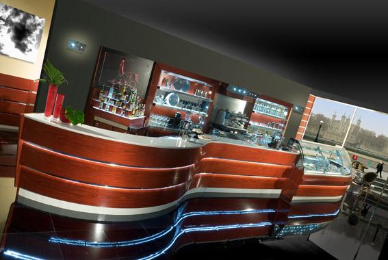 De blasi arredamenti tecnologie e arredi per bar e for Arredamenti per gelaterie