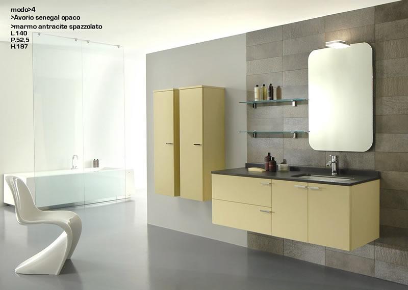 Mobili Bagno Design In Pietra ~ Idee Creative di Interni e Mobili