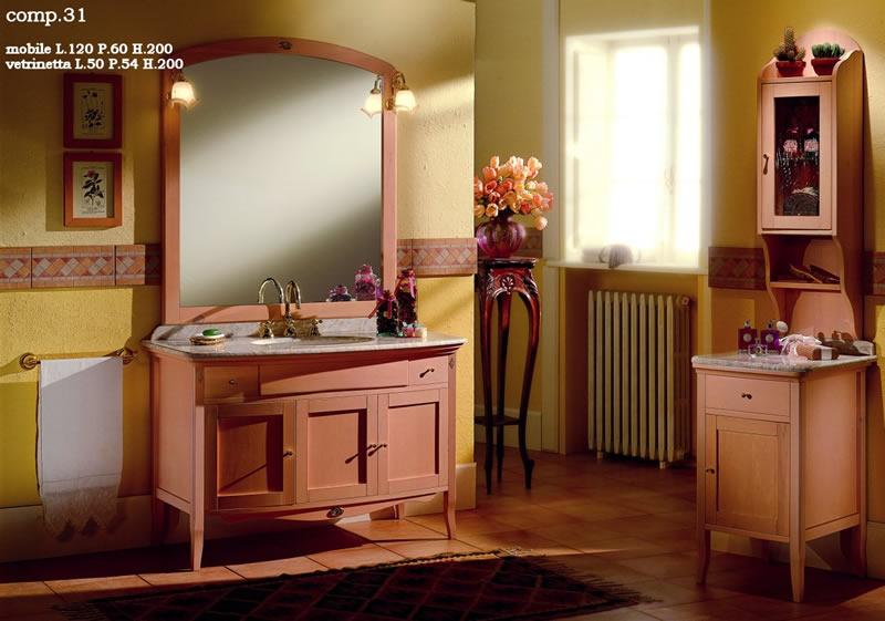 Magi agostino arredamenti bagno classici e moderni - Accessori bagno rustici ...