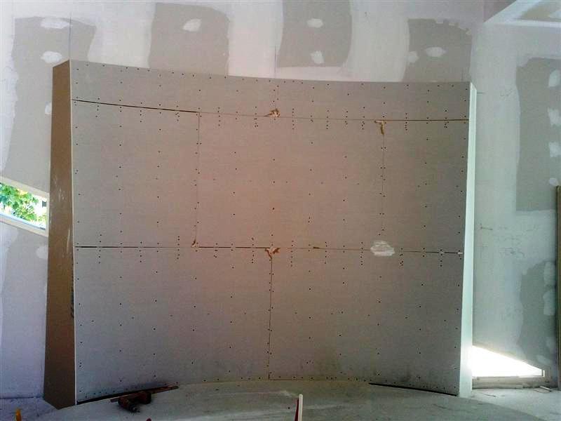 Pareti Divisorie In Gesso : Ali controsoffitti soffittature pareti divisorie lavorazioni
