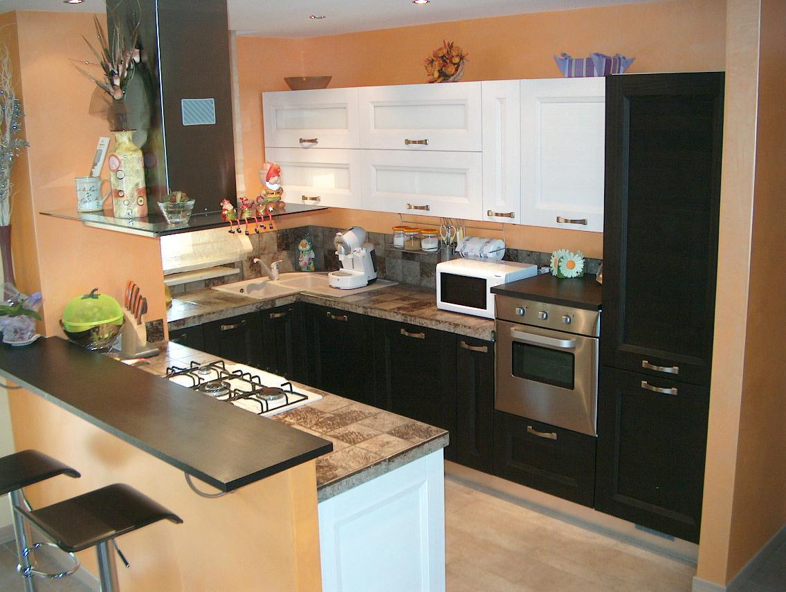 Piastrelle cucina moderna - tende da cucina country - cucine in legno ...