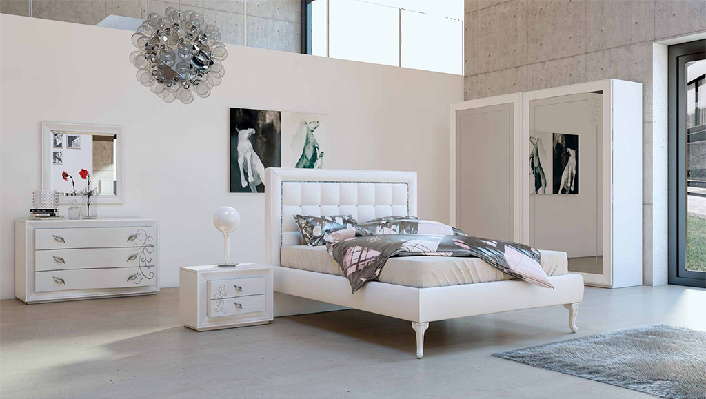 Euro design srl armadi e camere da letto ascom pesaro for Trittico per camera da letto