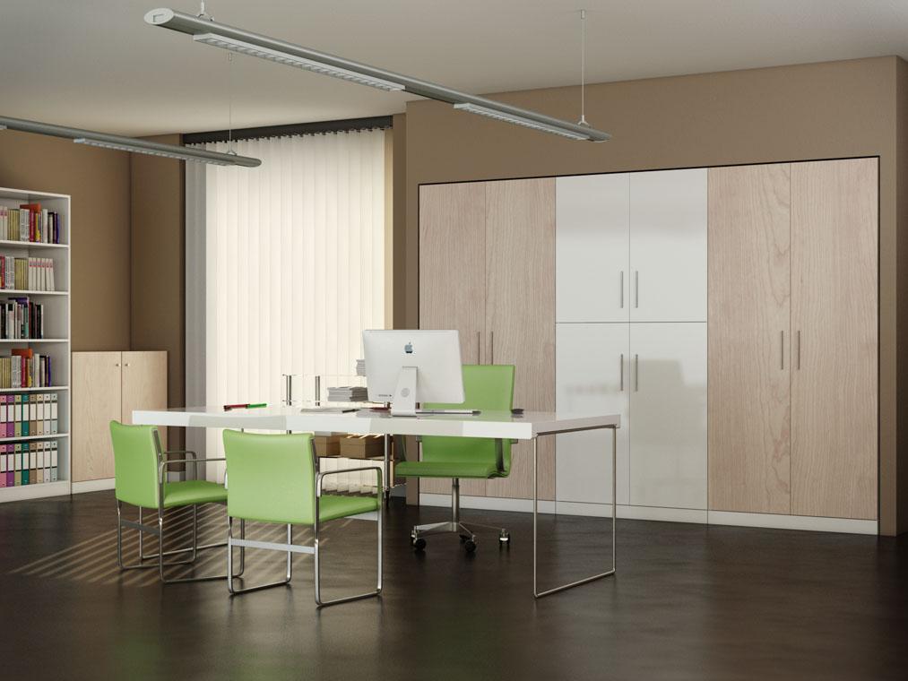 A misura arredamenti produzione e vendita di mobili e - Armadio ufficio ...