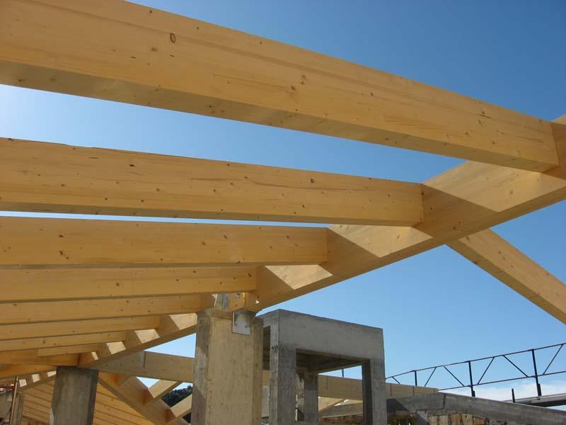 Canducci group sistemi costruttivi ecosostenibili for Tetti in legno particolari costruttivi