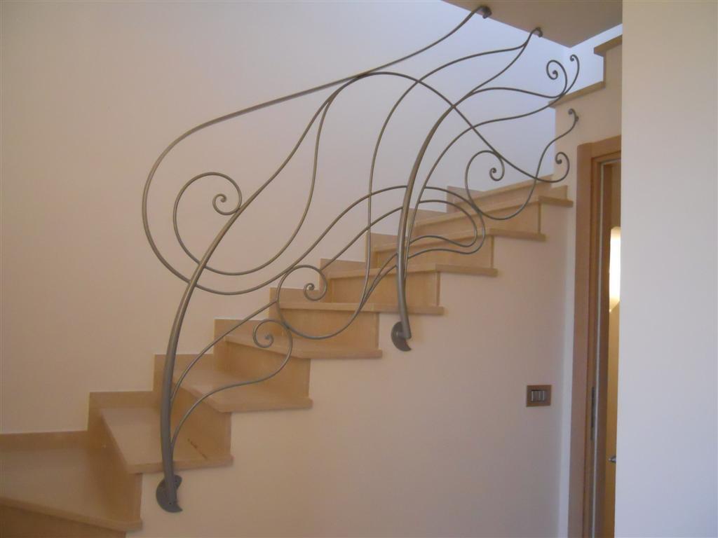 Artistica ferro battuto design e artigianato in ferro - Ringhiere da interno moderne ...