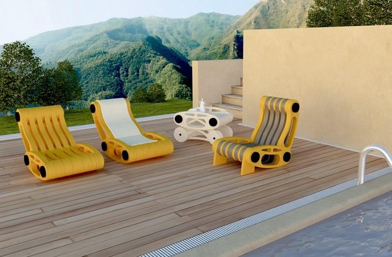 Ci tre design s r l mobili per arredamento esterno e - Mobili tre ci ...