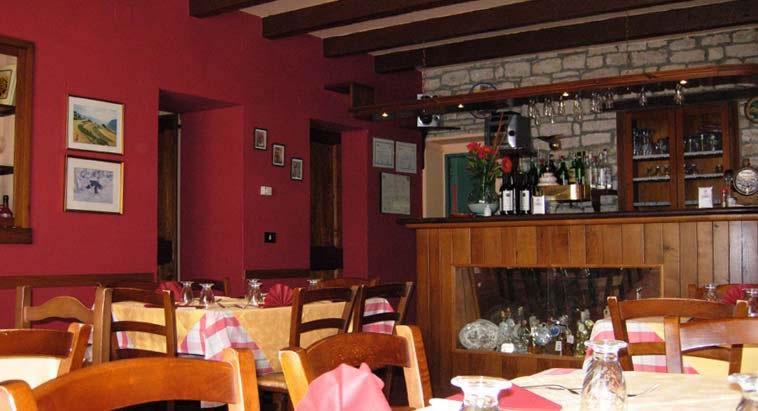 Villa barco ristorante cucina tipica marchigiana