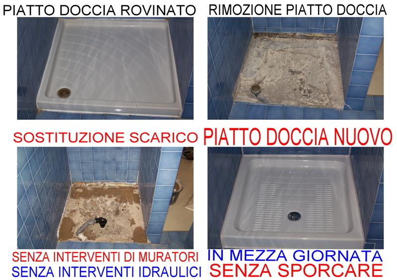 Vasca Da Bagno Rovinata : Conti orazio sostituzione trasformazione vasca da bagno
