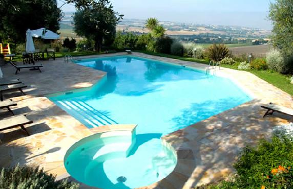 A s a impianti piscine fontane trattamento acque - Progetto villa con piscina ...