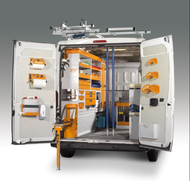 Order system allestimento veicoli commerciali ascom for Scaffali per furgoni fai da te