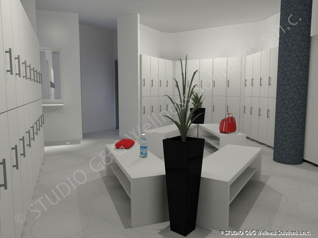 Studio g g progettazione e realizzazione centri for Arredo spogliatoi