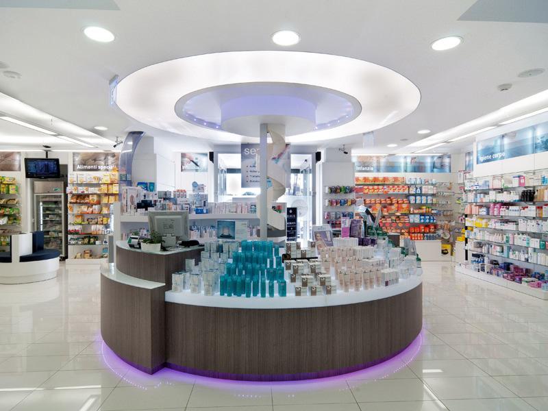 Ekofarma arredamenti e mobili su misura per farmacie for Bottigelli arredi farmacia
