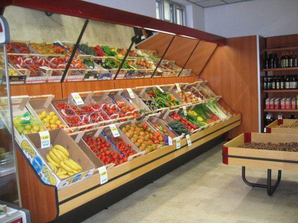 Tecno rimini vendita e assistenza di attrezzature e for Arredamenti per negozi di frutta e verdura