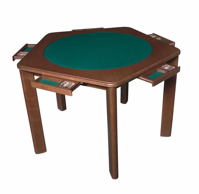 Essezeta tavoli da gioco da burraco e da bridge ascom for Gioco di arredamento