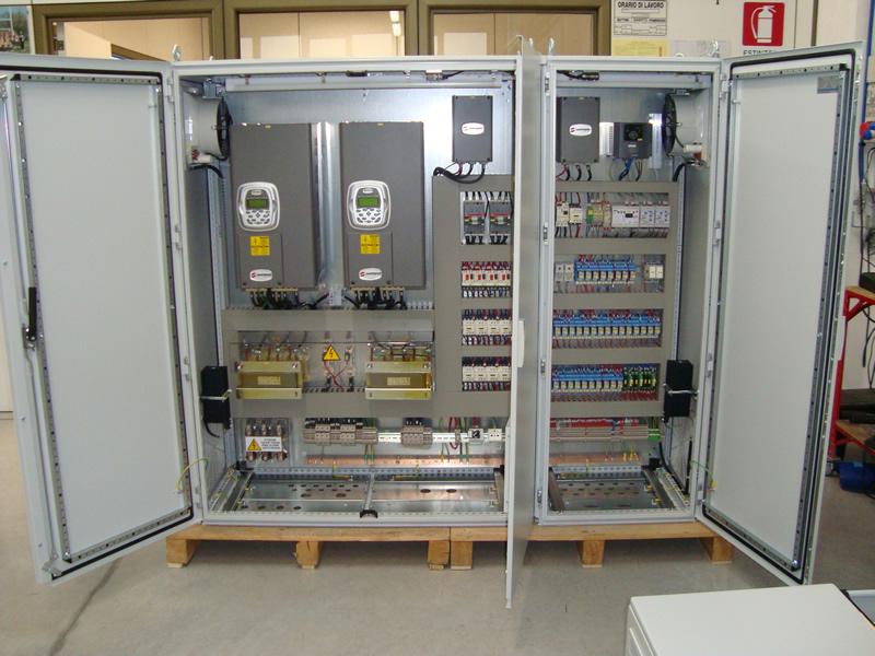 Schemi Cablaggio Quadri Elettrici : Tecno elettrica automazione industriale ascom pesaro