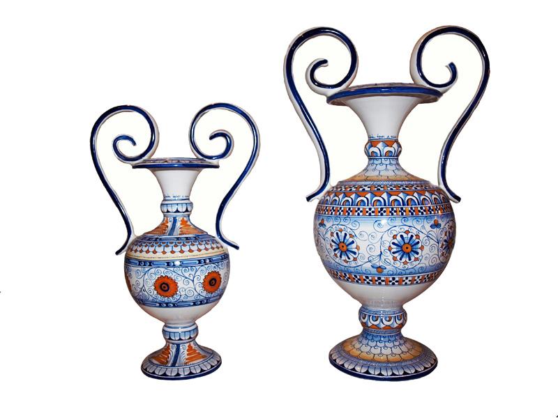 La maiolica decorazione artigianale della ceramica for Decorazione vasi