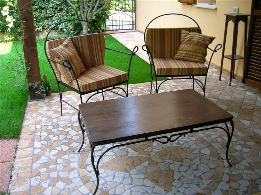 Artistica ferro battuto design e artigianato in ferro for Arredo giardino ferro battuto