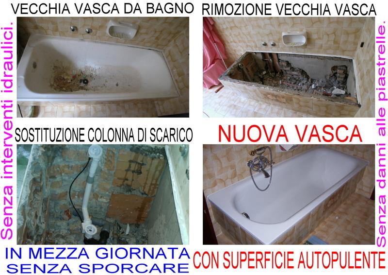 Conti orazio sostituzione trasformazione vasca da bagno ascom pesaro for Sostituzione vasca da bagno